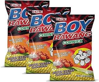 boy bawang cornick hot garlic flavor