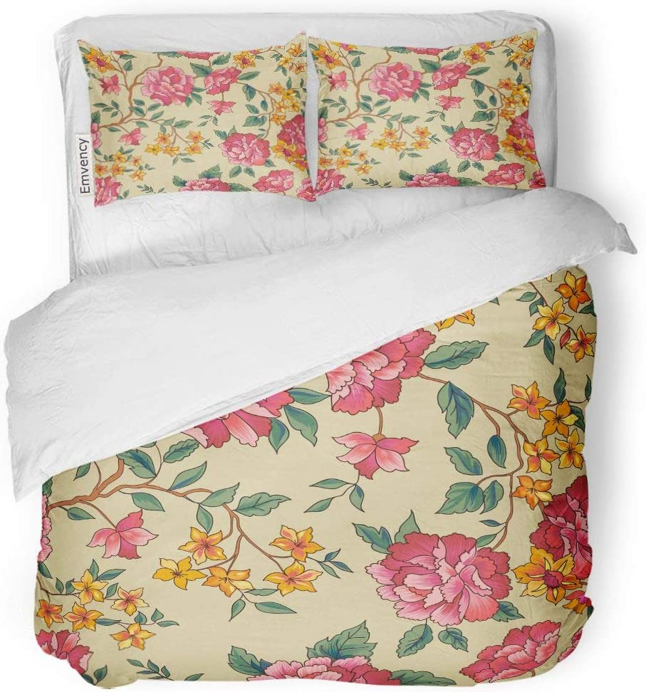 Tarolo Bedding Duvet Cover Set Rose NEW before selling ☆ Flower Flourish Floral Ranking TOP3 Peony