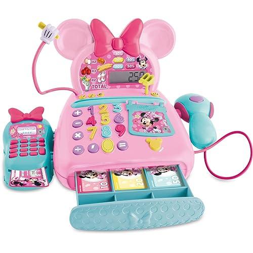 IMC Toys Mickey Mouse Caisse Enregistreuse Minnie-Disney, 181700