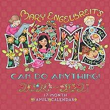 Mary Engelbreit Mom's Can Do Anything! 17-Month Family 2020-2021 Calendar