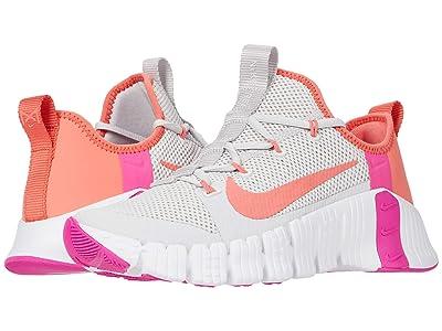 Nike Free Metcon 3 (Vast Grey/Magic Ember/White/Fire Pink) Women
