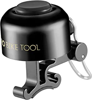 PRO BIKE TOOL Bicycle Bell for Handlebars – Crisp, Clear & Long Sound Ringer for Adults or Kids Bikes - Road, Mountain or ...