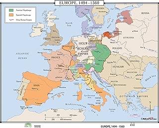 Europe, 1494-1560 (World History Wall Maps)