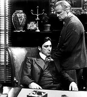 Posterazzi The Godfather Al Pacino Marlon Brando 1972 Photo Poster Print, (16 x 20)