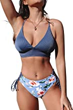 Best navy blue floral bikini Reviews