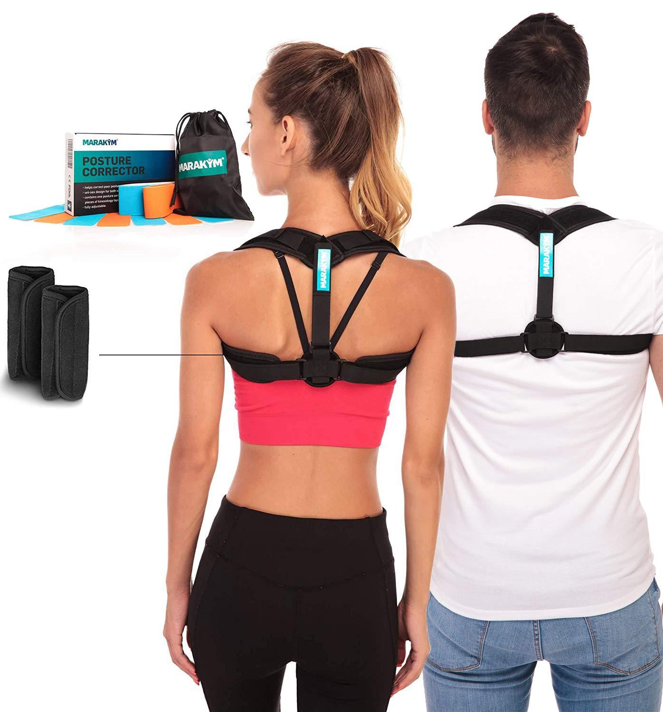 Posture Corrector Adjustable Comfortably Kinesiology