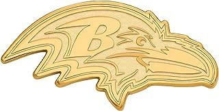 Kira Riley Gold Plated Baltimore Ravens XL Pendant