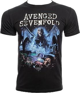 7220d4f3948 Amazon.es: Avenged Sevenfold - Camisetas y ropa de grupos de música ...