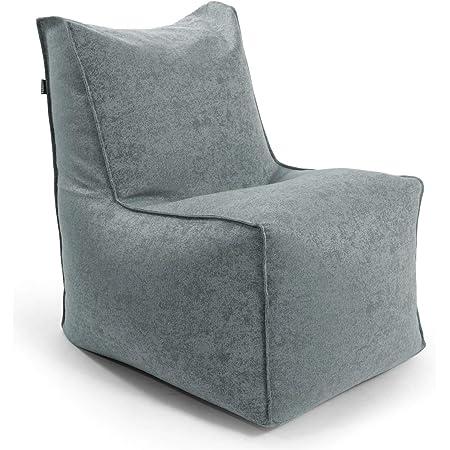 Sitzsack Made in Schwarzwald kleine Indoor /& Outdoor Liege oder Relaxliege Outdoorstoff in Anthrazit 007 mokebo/® Sitzsack Der Sundowner