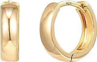 گوشواره های نقره ای استیل نقره ای PAVOI 14K نقره ای   گوشواره های حلقه ای کوچک   گوشواره های طلا برای زنان