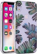 Ostop - Carcasa de TPU para iPhone XS/X, diseño de cristal transparente