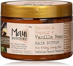 Maui Moisture Maui Moisture Smooth and Repair Vanilla Bean Hair Butter, 12 Ounce