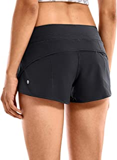 Women's Workout Sports Active Running Shorts - 2.5 Inches