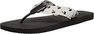 Havaianas Men's Urban Series Sandal Black/White Flip Flop