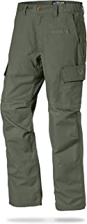 mens navy blue cargo trousers