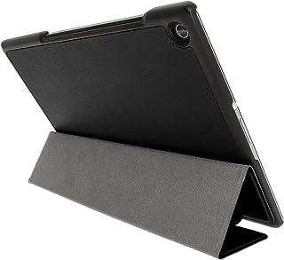 Kepuch Custer Sony Xperia Z2 Tablet Funda - Slim Smart Cover Funda Protectora de PU Cuero para Sony Xperia Z2 Tablet - Negro