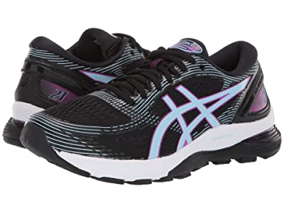 ASICS GEL-Nimbus(r) 21 (Black/Skylight) Women