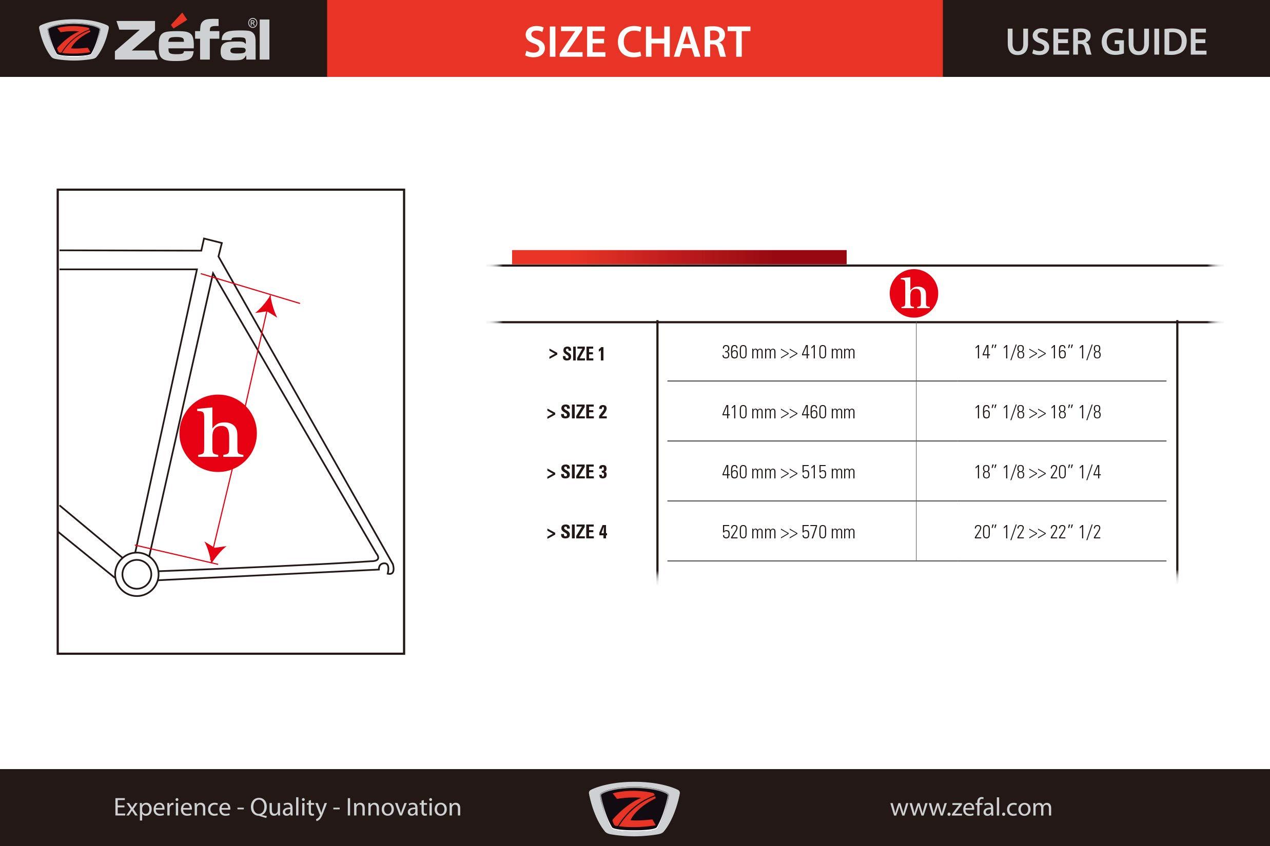 ZEFAL HPX - Bomba de Marco para Bicicletas, Color Plateado, Talla Size 3: Amazon.es: Deportes y aire libre