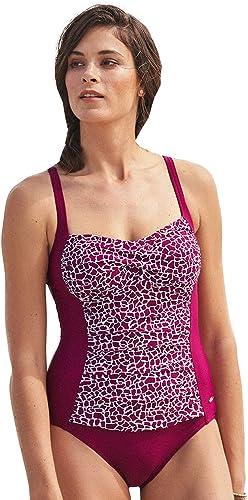Susa 4280-345 Wohommes Safari Africa rouge Animal Print Costume One Piece maillot de bain