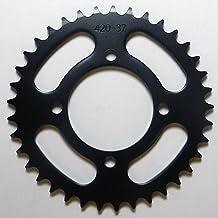 Yamaha Steel Rear Sprocket Moto-X DT 100 1977-2000/ TT-R 110 2009, 2011-2015 37 Teeth RSY-018-37 OEM #: 1P6-F5437-10-00, 1...
