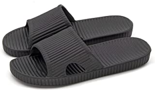 Happy Lily Women/Men's Slip On Slippers Non-Slip Shower Sandals House Mule Soft Foams Sole Shoes Pool Shoes Bathroom Slide...