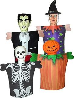 Fantoche Halloween Sulamericana Fantasias Único