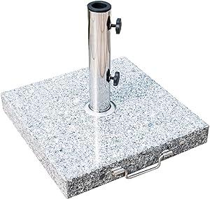 miozzi Base per Ombrellone in Marmo 29kg 42x42x36 cm
