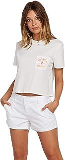 VOLCOM Women's Volcom Women's Made from Stoke Boxy Fit Short Sleeve Tee Shirt