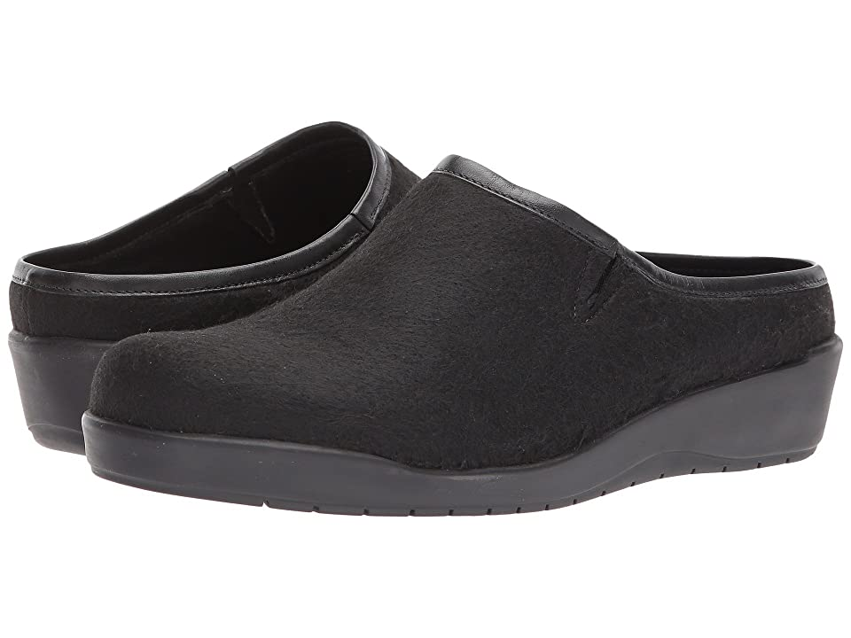 a516cfc171b Walking Cradles Abbott (Black Wool Fabric) Women s Shoes