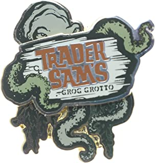 Disney Trader Sam's Grog Grotto Octopus Pin