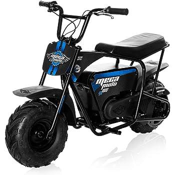 Monster Moto - Electric Mini Bike - 1000W (MM-E1000-BRM)(Black/Blue)
