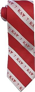 Kappa Alpha Psi Necktie Fraternity Greek Formal Occasion Standard Length Width (#7 - Necktie)
