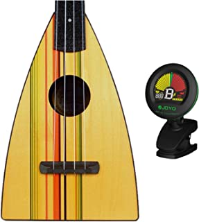 Magic Fluke Co Fluke Designer Stripe Tenor Ukulele w/ Tuner
