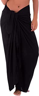 Womens Beach Cover Up Sarong Swimsuit Cover-Up Many Solids Colors