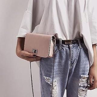 Wultia - Bags for Women Japan and Korean Style Color Small Square Bag Shoulder Messenger Hand Woman Bag Bolsa Feminina *0.92 Pink