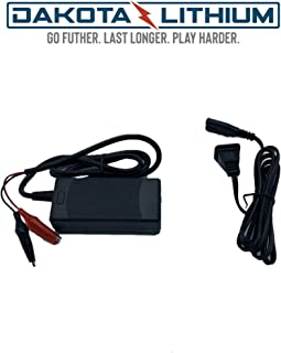 Dakota Lithium | 12V 3 Amp LiFePO4 Battery Charger | Works with 12V - 7Ah, 10Ah, 23Ah Batteries
