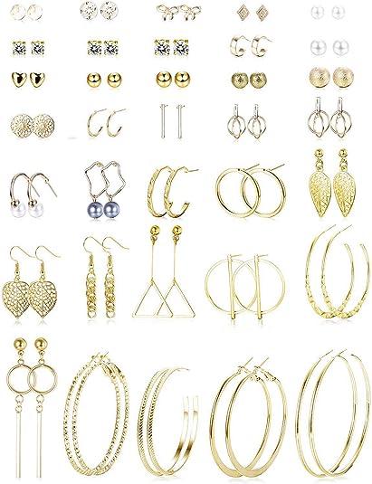 Ohrringe mehrere Mehrere Ohrringe