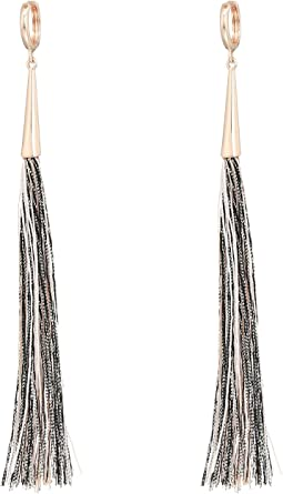 Rebecca Minkoff Long Tassel Earrings