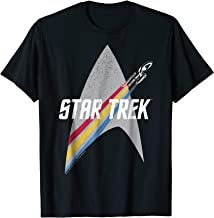 Star Trek Original Series Rainbow Delta Graphic T-Shirt