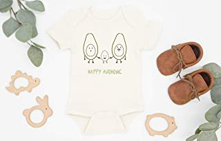 Avohome Baby Bodysuit, Avocado Baby Clothes, Organic Baby Clothes, Avocado Shirt, Guacamole, Baby Avocado Gift, Coming Home Outfit