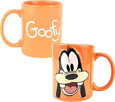 Disney Goofy Full Face 3d 11oz. Ceramic Mug by Disney