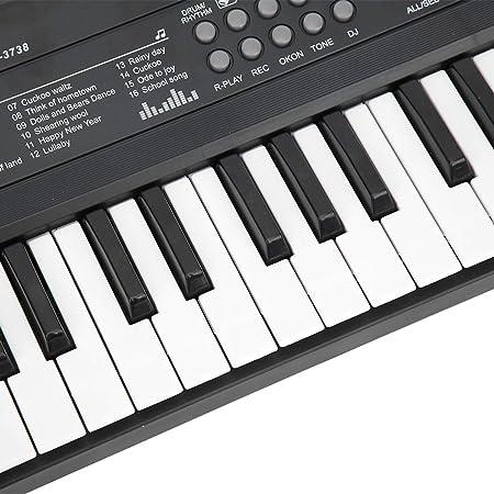 Teclado de piano, teclado portátil para instrumentos ...