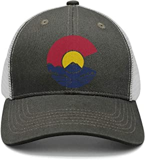 Rocky Mountain Colorado C Adjustable Baseball Cap Snapback Unisex Dad hat