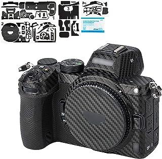 KIWIFOTOS Folia ochronna na aparat z włókna węglowego osłona ochronna do Nikon Z5, naklejki 3M odporne na zarysowania nakl...