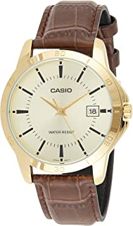 Casio Watch MTP-V004GL-9A for Men (Analog Casual Watch)