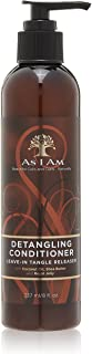 As I Am Detangling Conditioner Leave-in Tangle Releaser, 8 Ounce