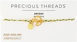 Alex and Ani - Precious Threads - Anchor Succulent Braid Bracelet