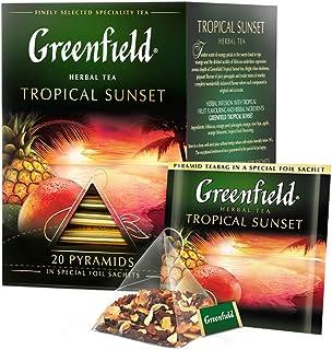 Tee Greenfield Tropical Sunset 20x1,8g Pyramidenbeutel