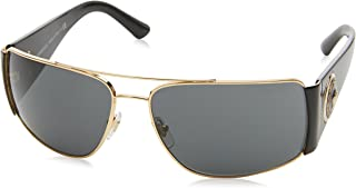 Versace Men's VE2163 Gold/Black/Grey