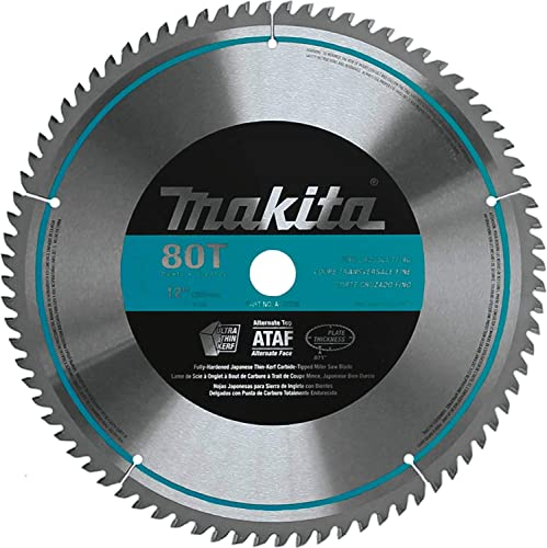 2021 Makita popular A-93728 12-Inch 80 Tooth Micro 2021 Polished Mitersaw Blade outlet sale